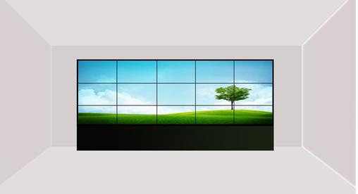 液晶拼接电视墙大屏幕
