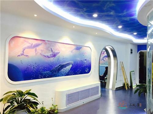 酒店墙体彩绘工程,公司设计师和画师均来自各大美术院校,以创意为核心