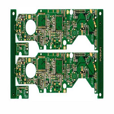 高难度多四六层PCB精密电路板小线孔3MIL加工