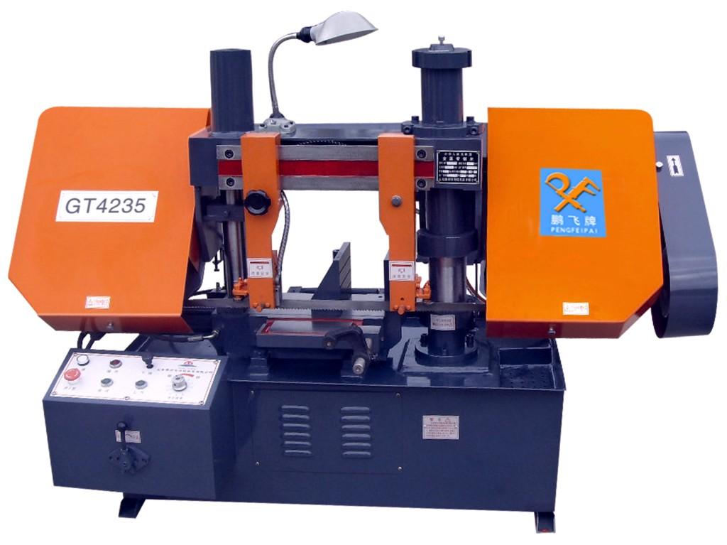 厂家热销液压双立柱带锯床GT4235带锯床价低锯切更稳