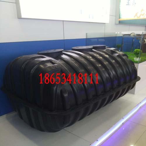 防腐蚀型聚丙乙烯三格化粪池结构尺寸介绍