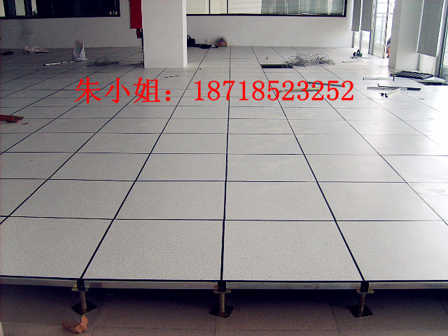 防静电地板施工工艺 深圳防静电地板 高清图片