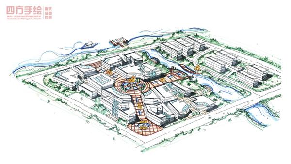 重庆手绘考研培训多少钱—城市规划专业手绘培训