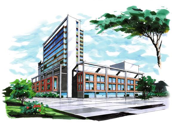 四川大学建筑手绘培训--四方手绘欢迎您的到来