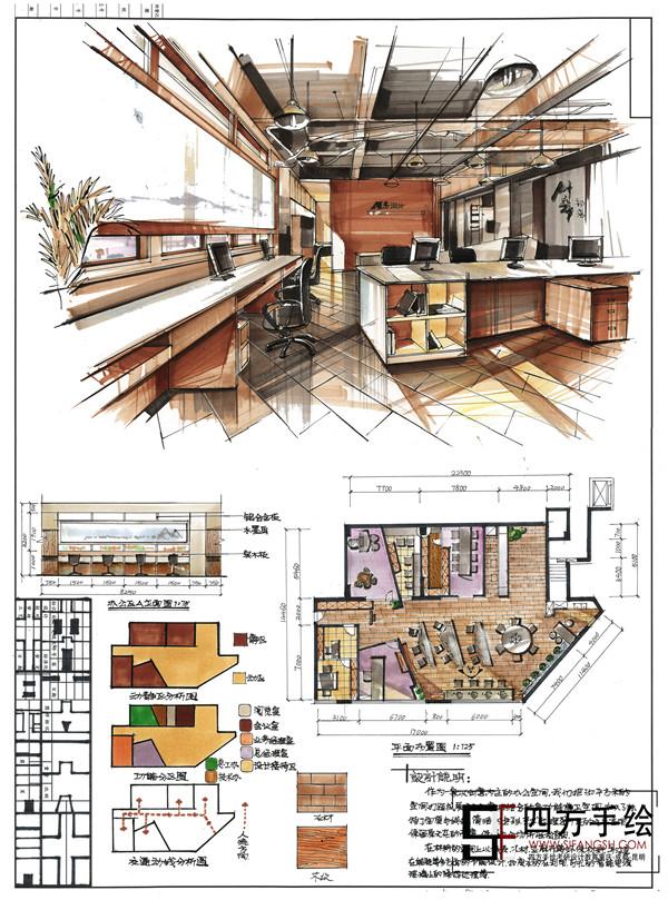 建筑快题方案班,是四方手绘专门为考研考博学员开设的方案设计培训班