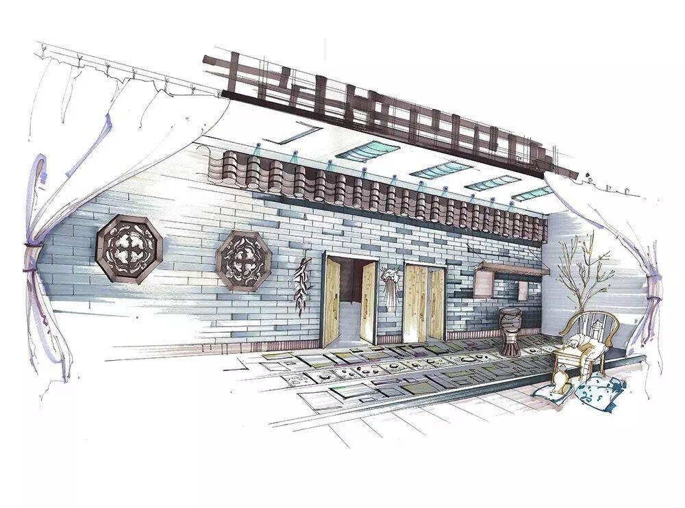 重庆大学建筑手绘培训【四方手绘】教学严谨