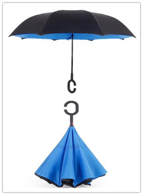 设计了一新款汽车反向伞,汽车反向伞主要特点就是不漏雨,一般的雨伞出图片