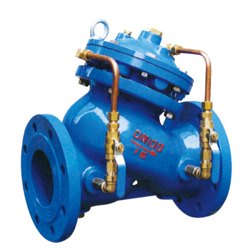 主阀控制室为膜片式或活塞式的双控制室结构,控制室比一般水力控制阀图片
