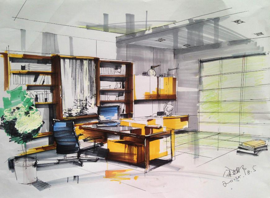 南京室内设计手绘哪里学