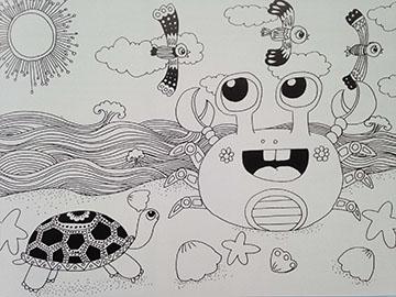 暑期少儿创意美术培训班费用怎么收图片