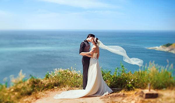 厦门外景拍摄婚纱照最流行婚纱风格