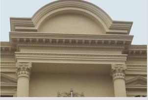 上海grc装饰线条图片