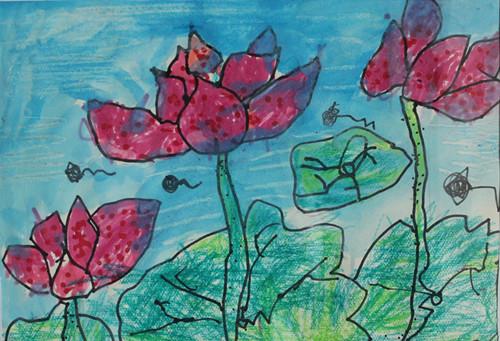 儿童学绘画有哪些好处呢?图片