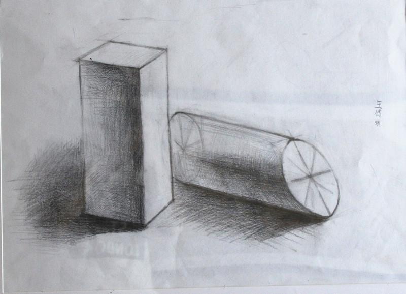 如,初中数学的立体几何,不画出图形,心中已有立体图形.图片
