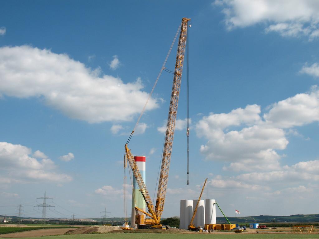 国外风电吊装 德马格CC6800