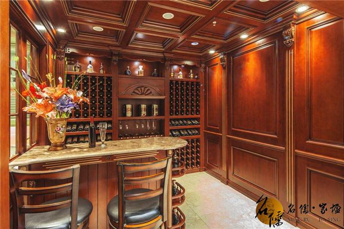 室内酒窖建筑平面图