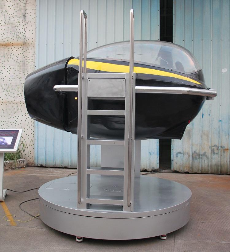 专业模拟飞机飞行全动感飞行模拟器设备思泓飞行模拟器培训是可以自己