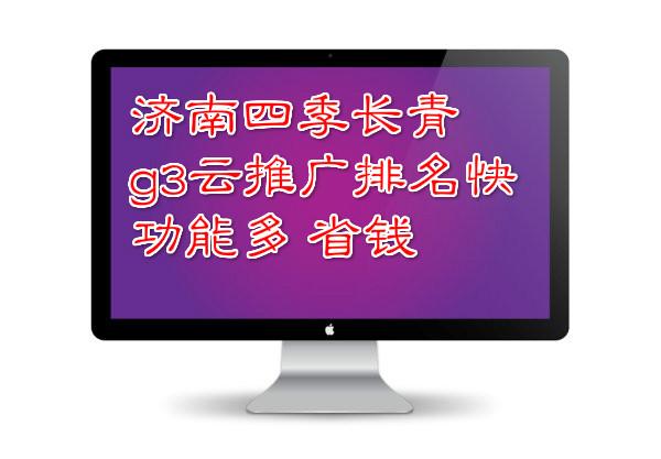 济南四季长青g3云推广大变革踏入网络营销新的征程