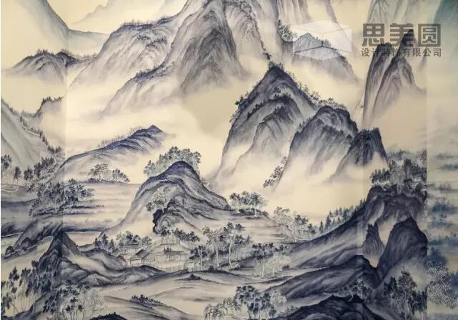 深圳思趋势设计l壁纸古风--室内设计新兴美圆大屏ui设计端什么包括图片