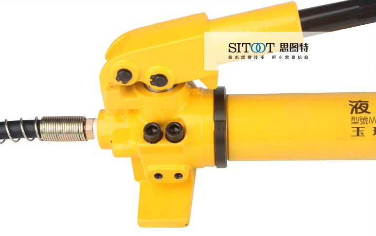 cp-700液压泵 手动液压泵 液压手动泵安全阀图片
