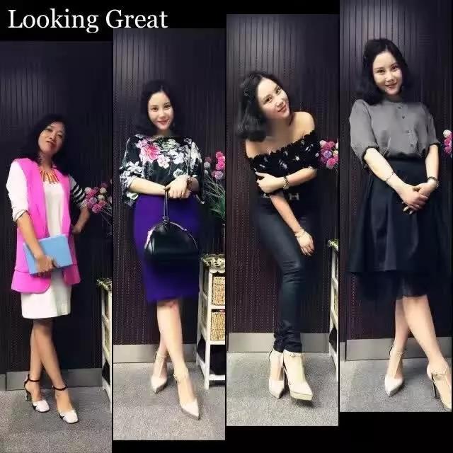上海闵宝山形象顾问色彩服装搭配公益体验课丝巾系法
