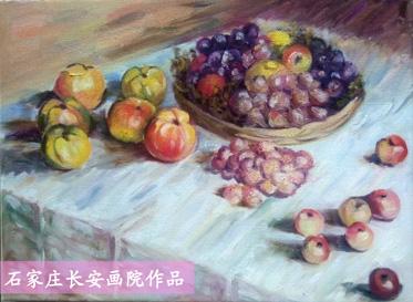 油画风景,静物,花卉的临摹,写生与创作    二班:1.