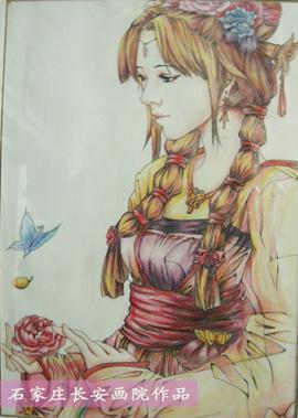 石家庄暑期成人彩铅手绘培训