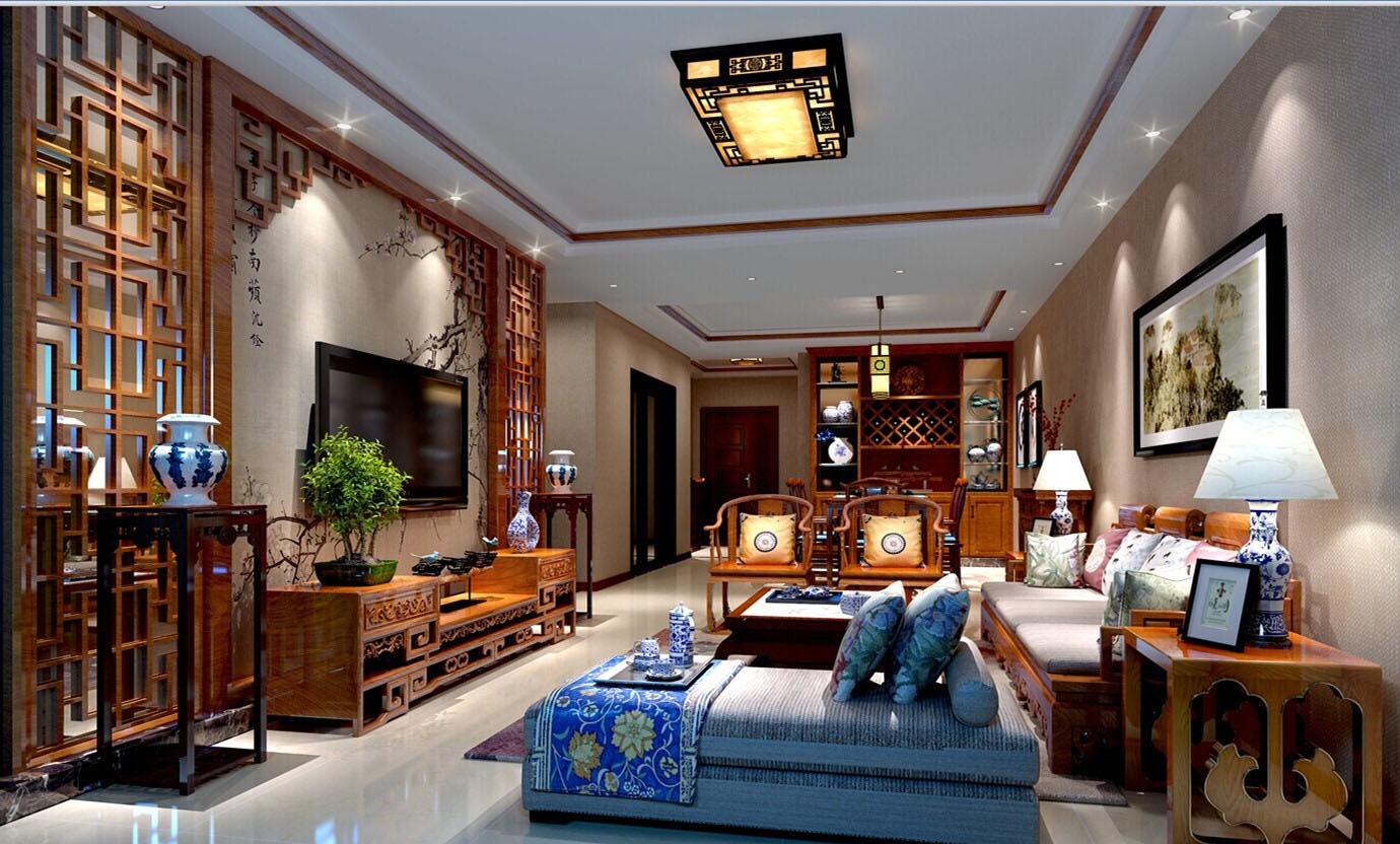 【南京时时洁装饰】装修风格有:中式古典装修图片