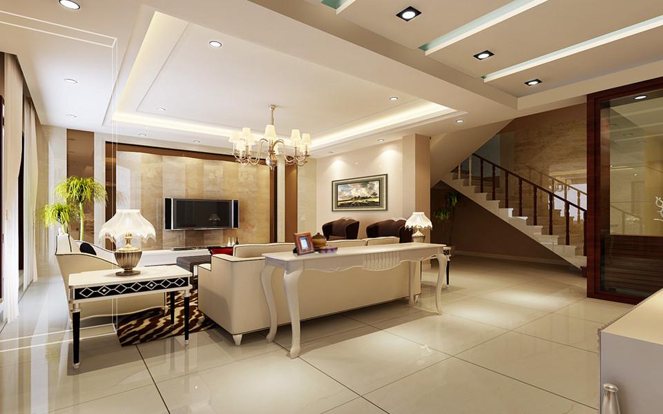 南京复式户型客厅装修哪家好