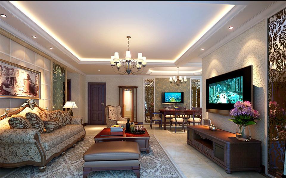 南京大户型欧式沙发背景墙装修哪家强
