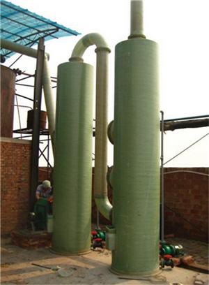 滨州市污水厂废气处理 酸雾废气喷淋塔填料塔环评认可品牌