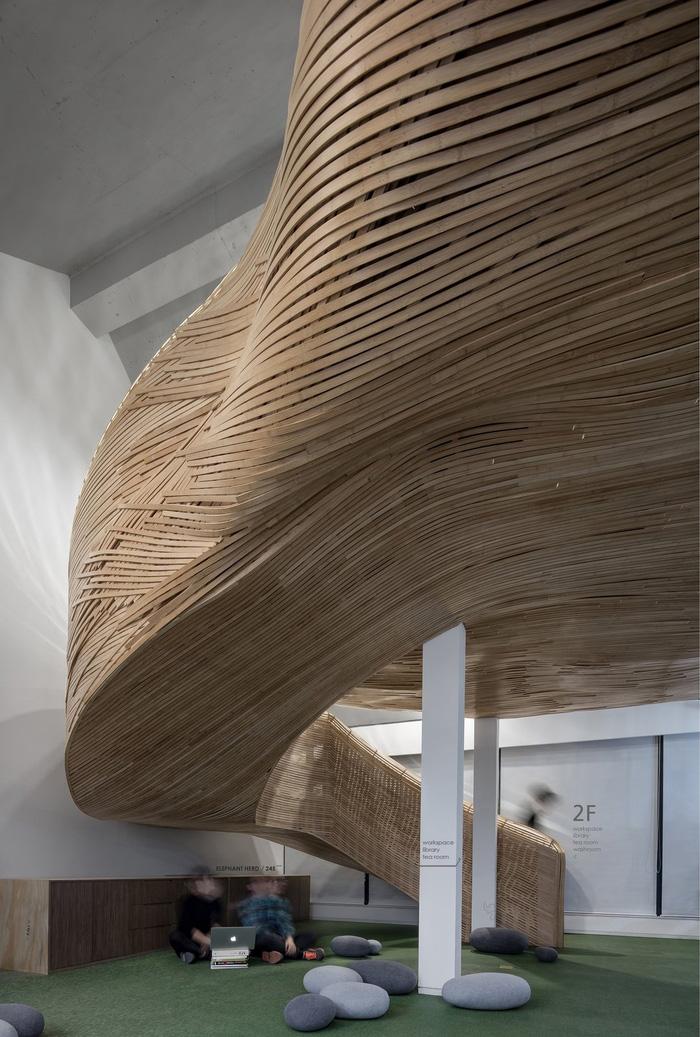 """""""诗意素裹""""大象游行办公室创意办公空间设计欣赏.图片"""
