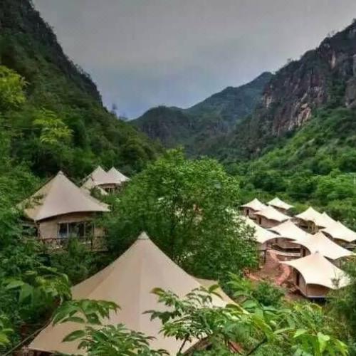广东浪漫独特的野奢酒店张拉膜厂飞雨膜漫天星星