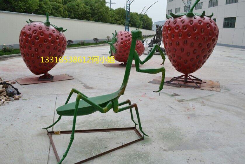 丹寨兴仁生态园水果蔬菜动物雕塑图片