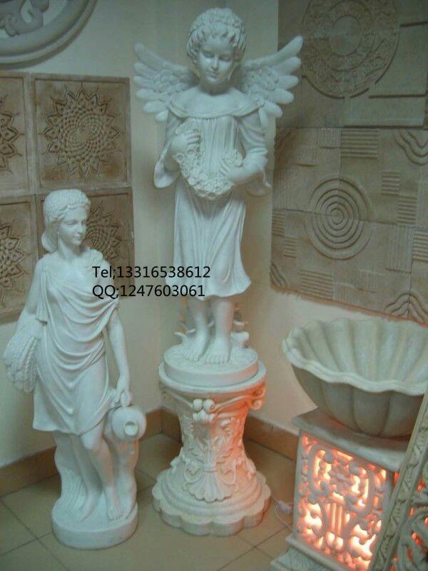 供应玻璃钢小天使雕塑厂家 欧式人物雕塑欢迎来图片制作