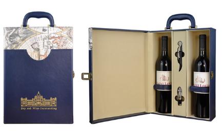义乌葡萄酒酒盒包装工厂 设计订做酒盒包装周期短质量好 独特性的酒盒包装