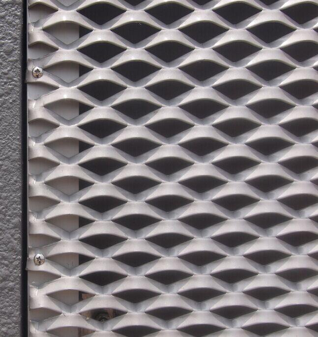 深圳南山区华南恒跃厂家专业生产铝鱼鳞网 铝板网 菱形网