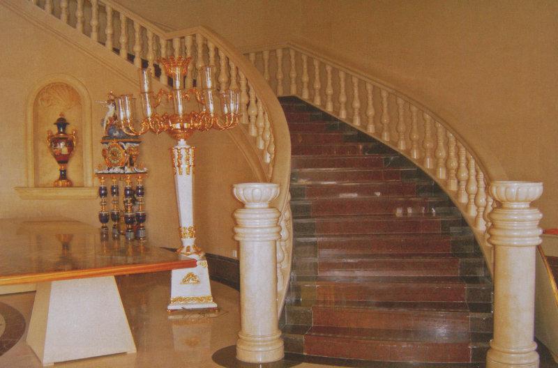 石材楼梯栏杆装饰