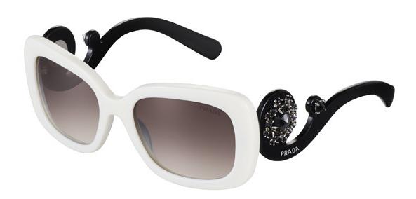 普拉达ornate系列眼镜:采用珍贵宝石手工镶嵌镜框