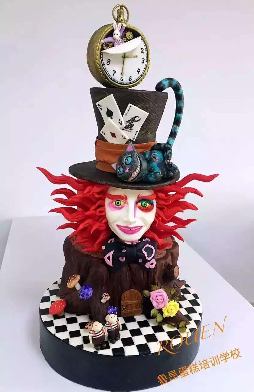 龙岗中心城学蛋糕翻糖蛋糕培训就来鲁昂 一对