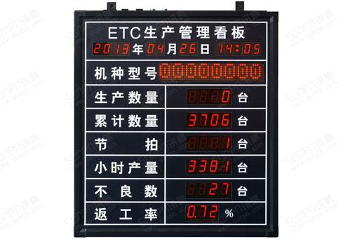 广州电子看板流水线电子看板珠海电子看板