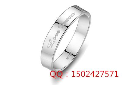 深圳白金手环戒指文字雕刻 珠宝戒指雕刻专用设备供应