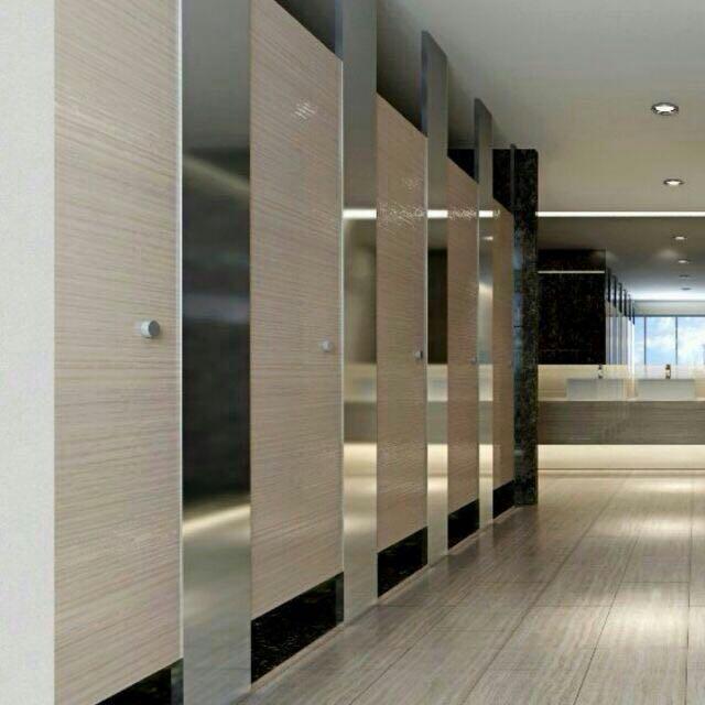 广州天河写字楼卫生间隔断用康倍特板 新一代的选择