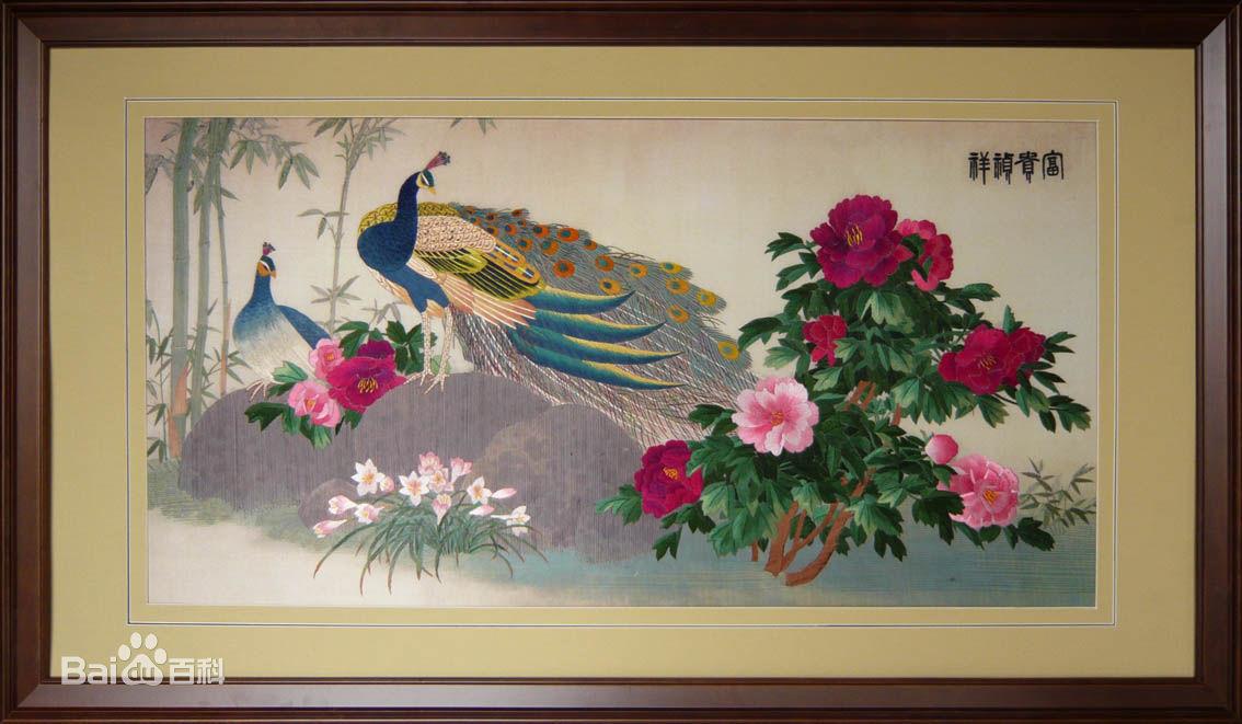 刺绣展现的不仅是一幅画,而是一种生活和信仰,服务质量都非常到位