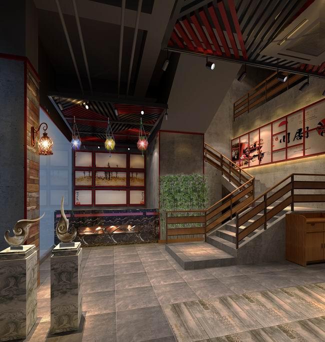 广州烤鱼餐厅装修设计案例,哪家装修公司做得较好?