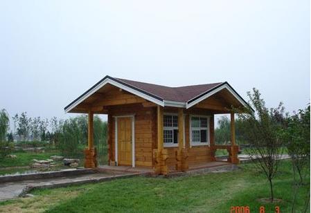 避暑生態木屋生產公司,旅游區木屋酒店承建公司,歐式風格小木屋設計