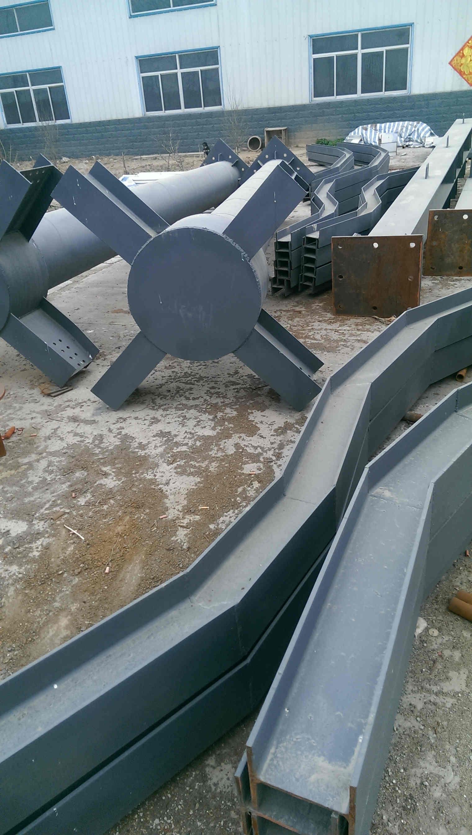 专业安装 _ 屋顶钢结构造型厂家施工队 _ 屋顶网架造型设计厂家 30年