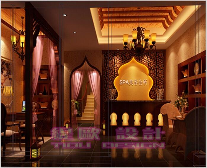 东南亚风格美容院装修设计专业打造