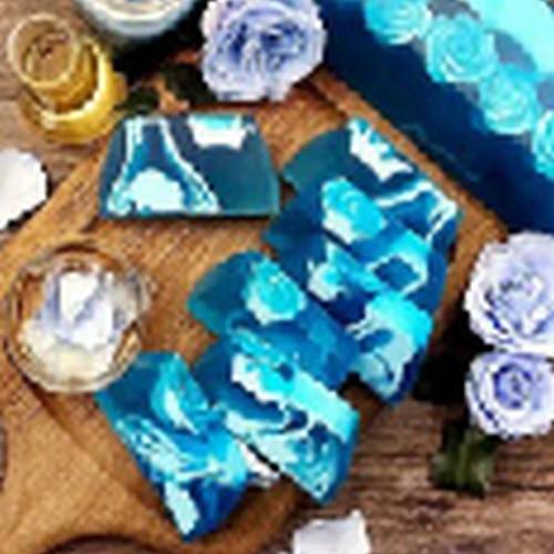 推荐主营项目————百缇肤 蓝玫瑰天然手工鲜切皂