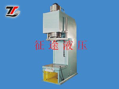系列压装机是一种多功能的中小型液压机,适用与轴类零件,型材的校正和图片